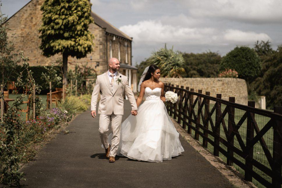 South Causey Inn Wedding Couple