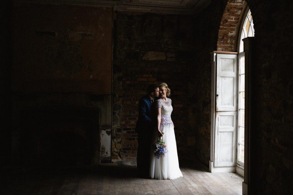 wedding at the beautiful brinkburn priory